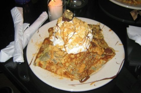 OMG! CREPEGASM! Photo credit - Yorkville Creperie