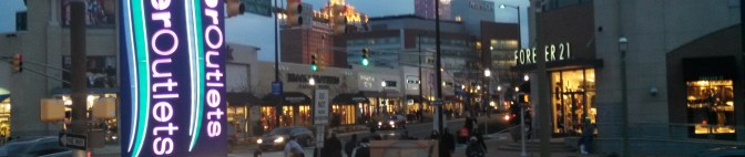 Retail therapy and saying hello to Miss America in Atlantic City!