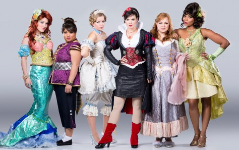 Alison Burns, Lulu Picart, Becky Gulsvig, Michelle Knight, Jen Bechter and Soara-Joye Ross from DISENCHANTED!