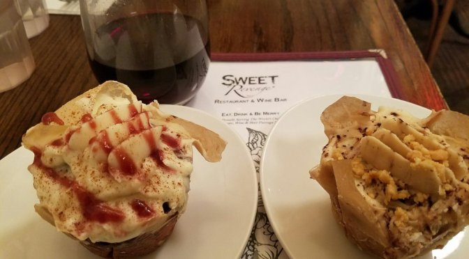 Cupcakes and Wine at Sweet Revenge in NYC
