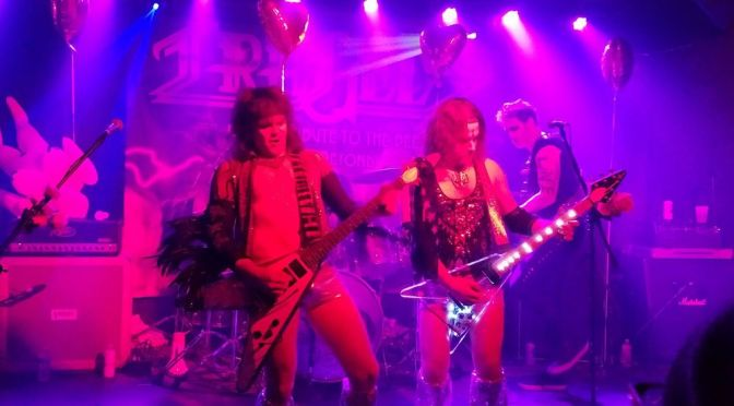 The VDay God of Heavy Metal Love in NYC!