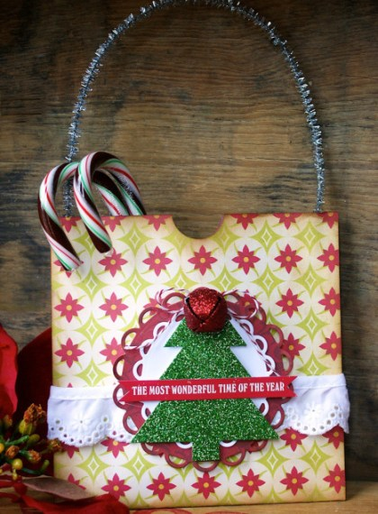No Sew Holiday Gift Bags