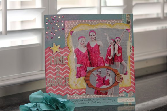 Time-to-Dance-Layout-Glitter Dust