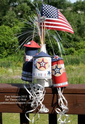6 2013 KidCraft Patriotic Paper Rockets 1rev PKM