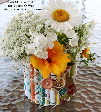 7 2013 ZIPS Rolled Paper Vase 8rev PKM