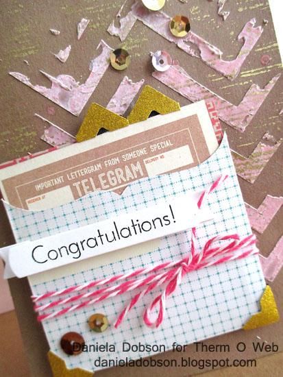 Congratulations close by Daniela Dobson