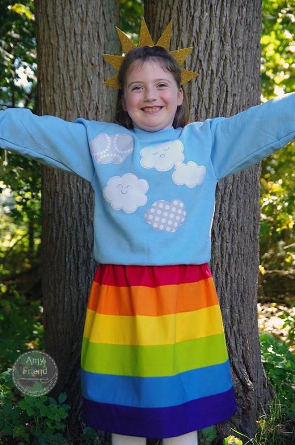 Rainbow Costume 1 by Amy Friend