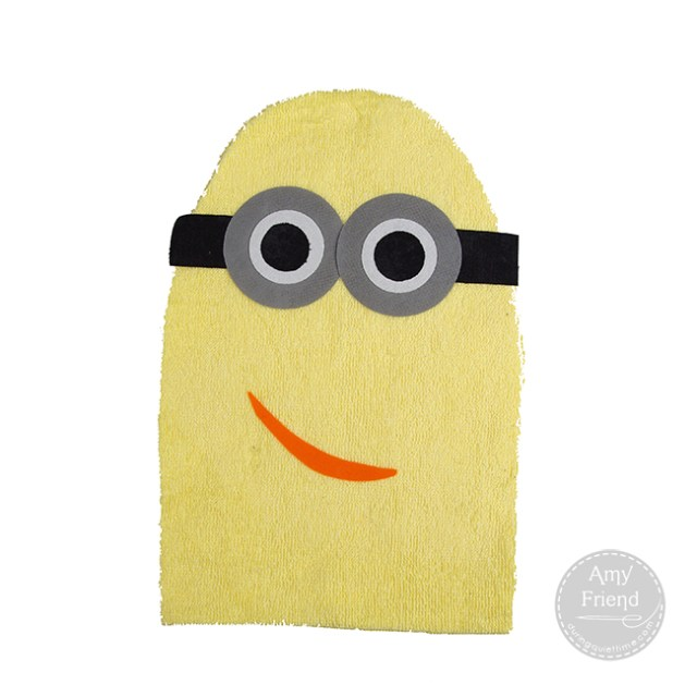 Minion Washcloth 3