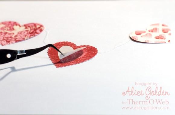 Alice-Golden-Therm-O-Web-iCraft-Valentine-Garland-5