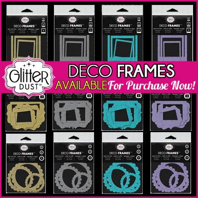 Glitter Dust Deco Frames