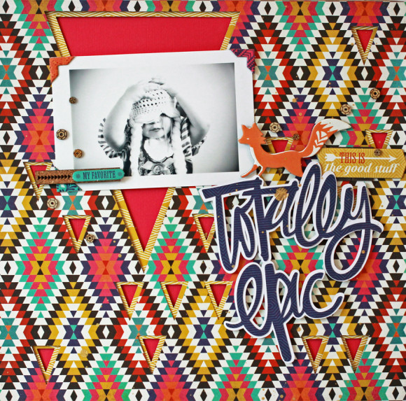 Jen Chesnick- Totally Epic- Scrapbook Circle