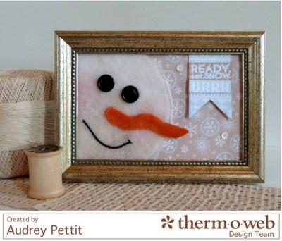 AudreyPettit Thermoweb ReadySetSnowFrame