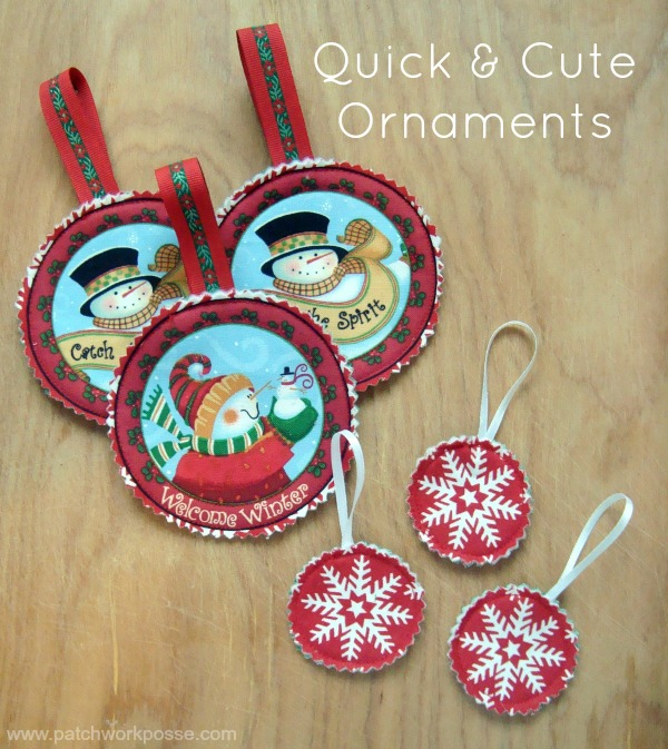 quick and easy ornaments