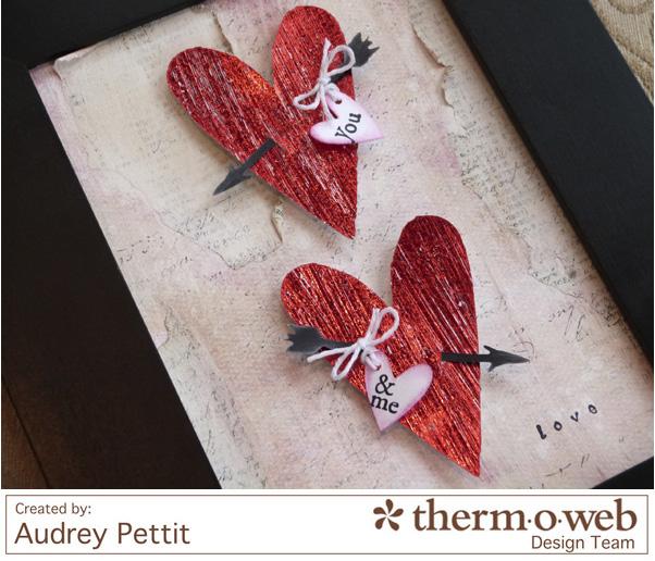 AudreyPettit Thermoweb DecoFoil LoveFrame3