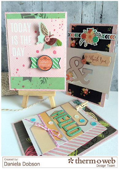 Everyday occasions cards by Daniela Dobson