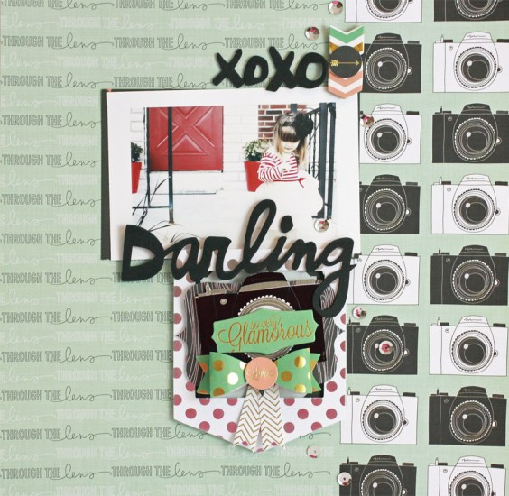 Jen Chesnick- XOXO Darling- Thermoweb