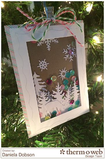 Shaker card tree by Daniela Dobson