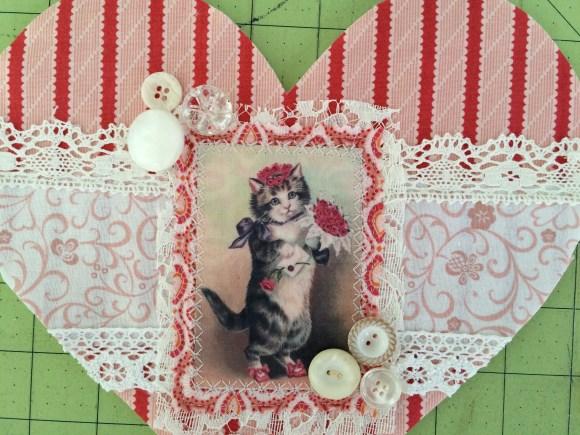 vintage valentine cat 8