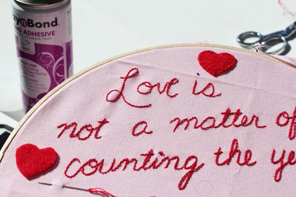 attach hearts