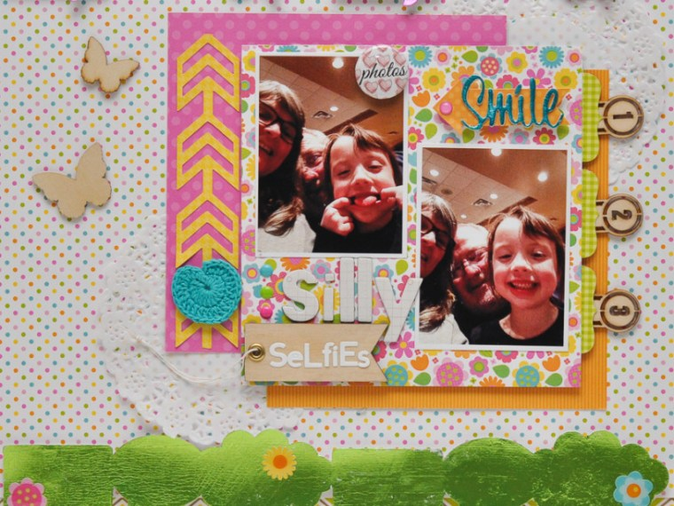 Katrina Hunt Deco Foil Layout