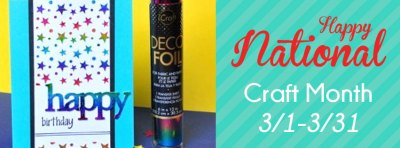 National Craft Month ThermOWeb