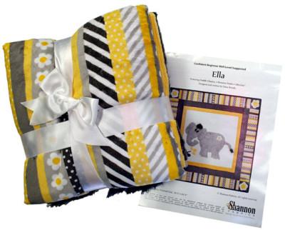 Shannon Fabrics Ella Quilt Kit