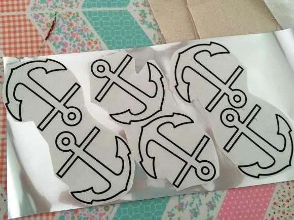 riley blake nautical banner deco foils 103