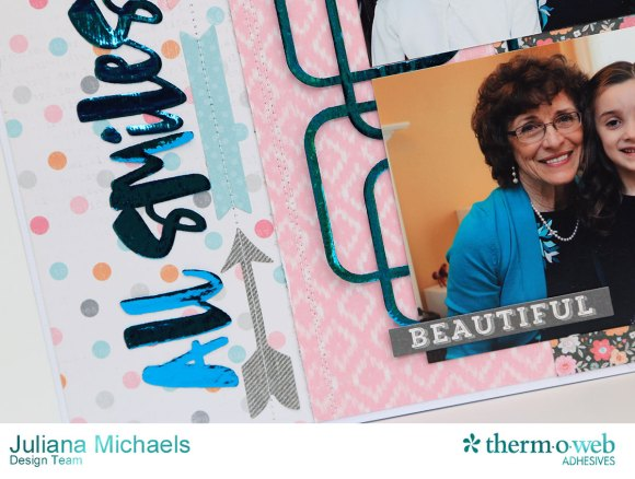 All_Smiles_Scrapbook_Page_Juliana_Michaels_Therm_O_Web_Adhesive_Hot_Melt_Decofoil_Teal_Silhouette_Cut_Files_Cocoa_Vanilla_Studio_Hello_Lovely_04