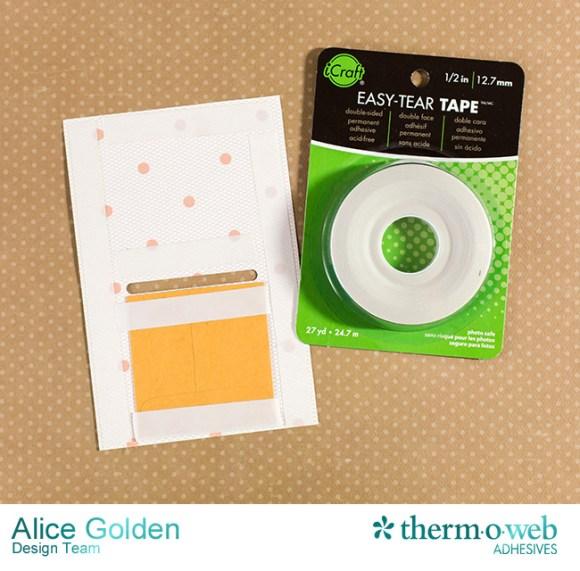 Alice Golden DecoFoil Rustic Elegance Wedding Gift Card Holder 10