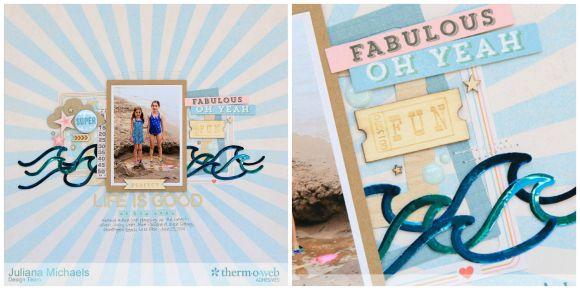 Juliana Beach Collage