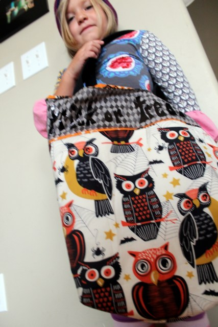 trick or treat bag with pip