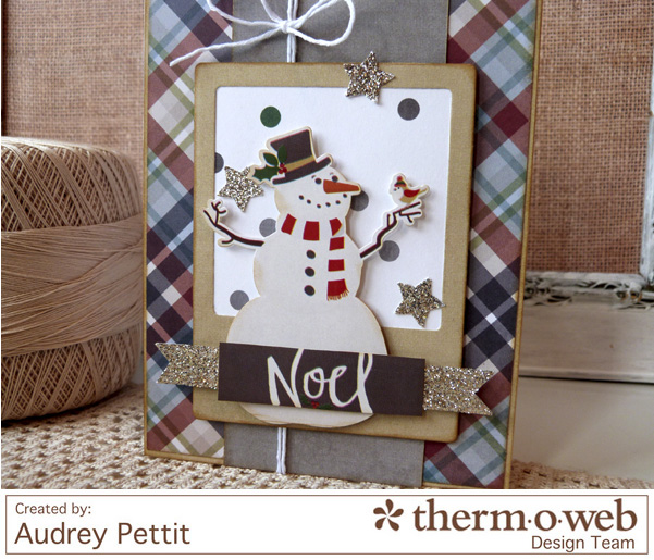 AudreyPettit Thermoweb NoelCard3