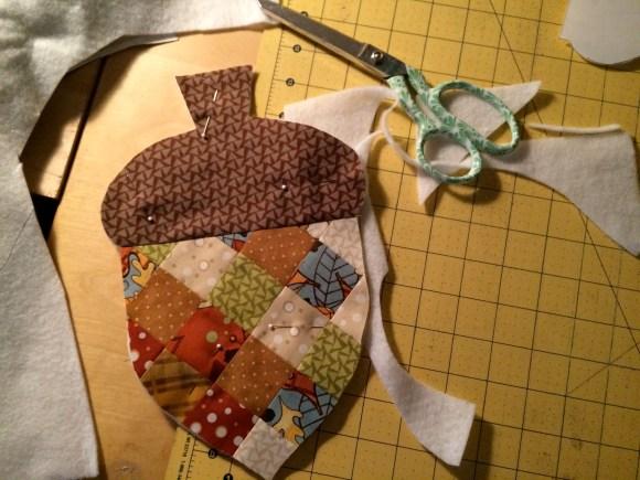 patchwork acorn potholder 13