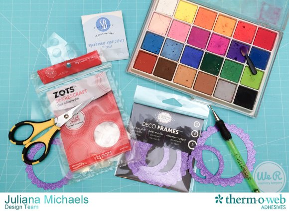 Scallop_Frame_Glitter_Dust_Rose_Tutorial_Therm_O_Web_Adhesives_Juliana_Michaels_1-2
