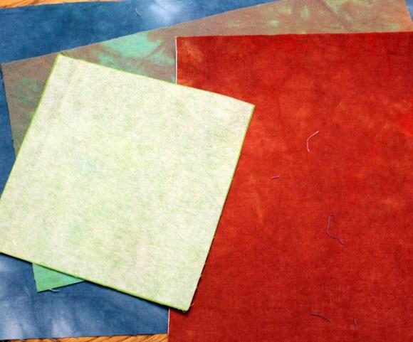 fabric with interfacing