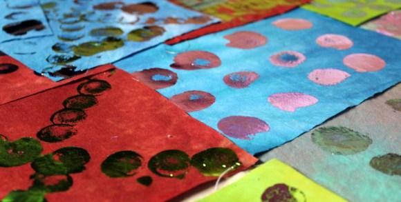 decofoil on fabric