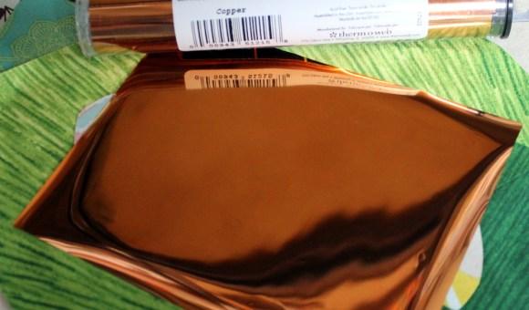 copper decofoil
