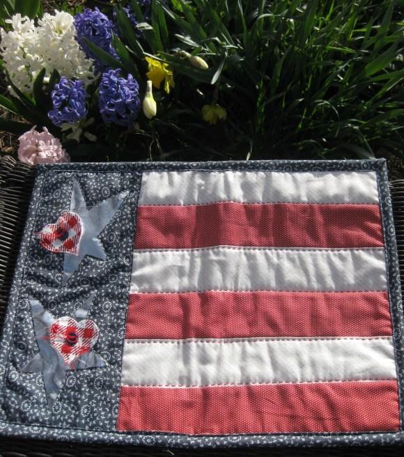 Patriotic Flag Placemats