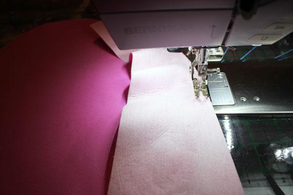 stitch on side