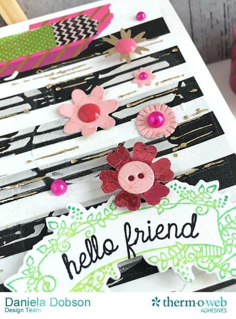 Hello friend close 2 by Daniela Dobson