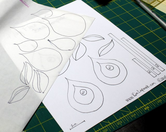 Trace shapes on fusible