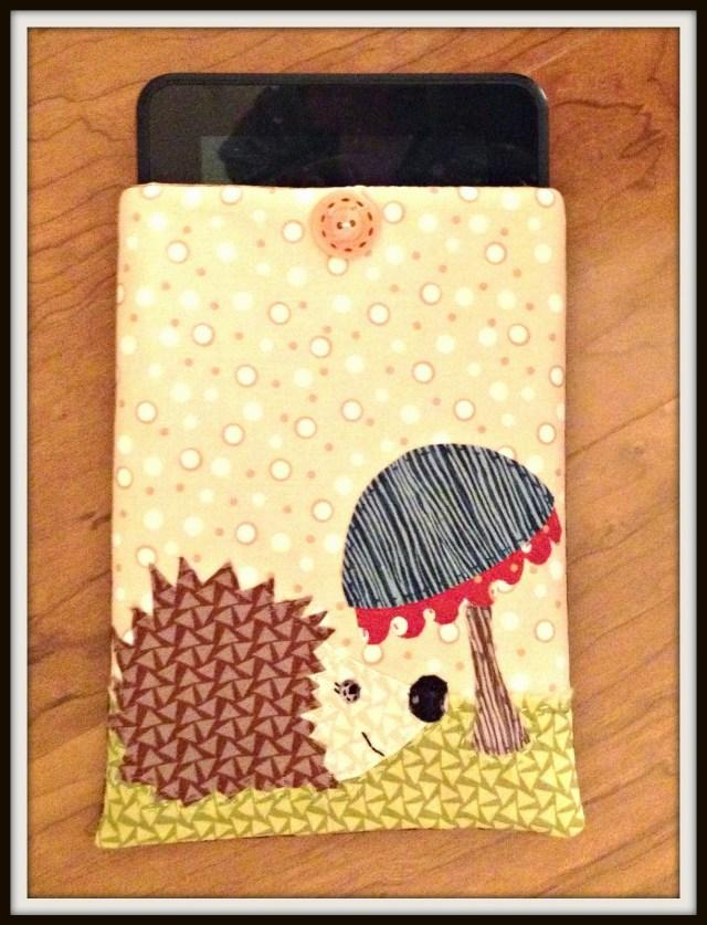 Hedgehog Kindle Cover
