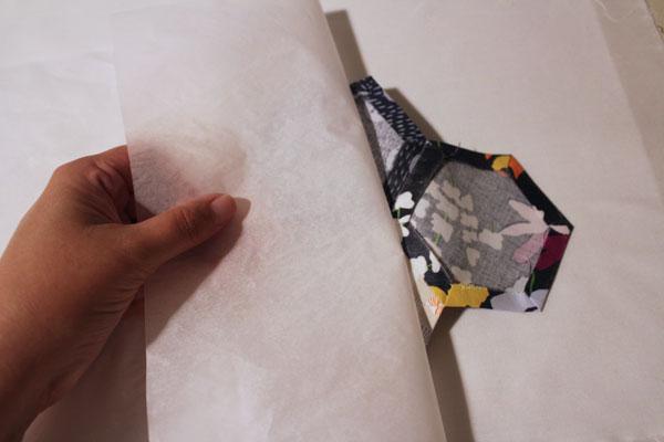 remove pressing sheet