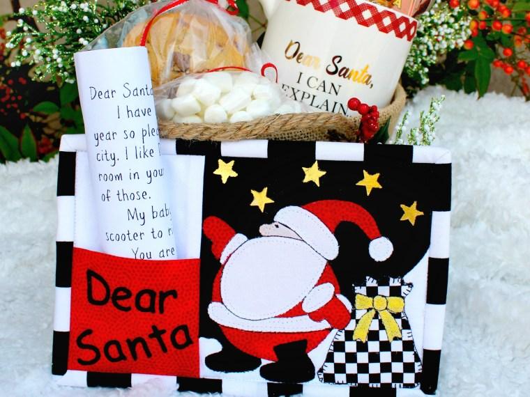 Holiday Santa Mug Christmas Set