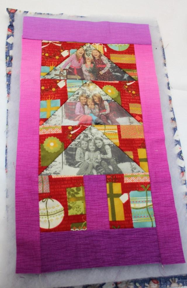mini quilt layers