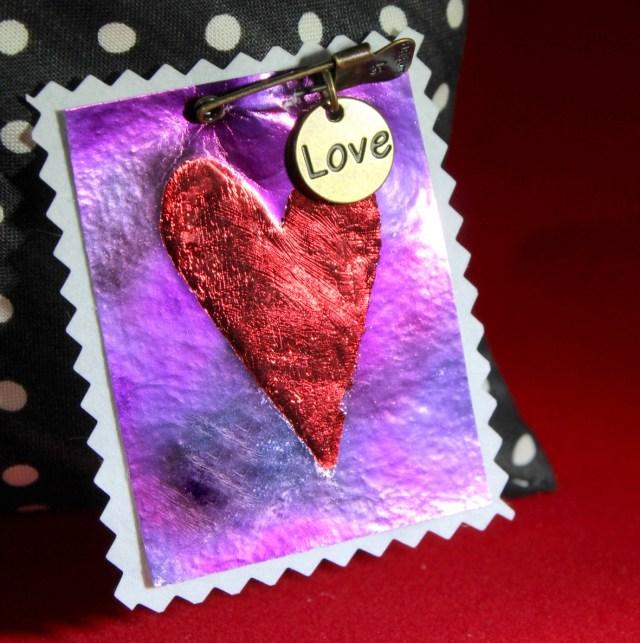 Deco Foil Valentine 10