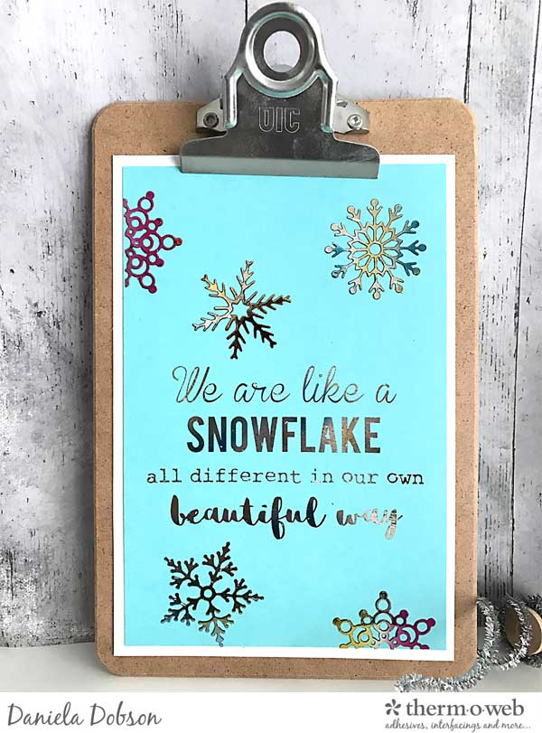 snowflake-quote-clipboard-by-daniela-dobson