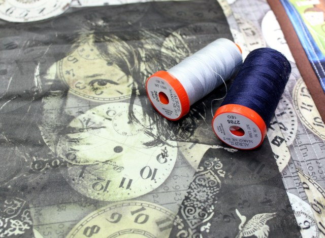 quilting with aurifil