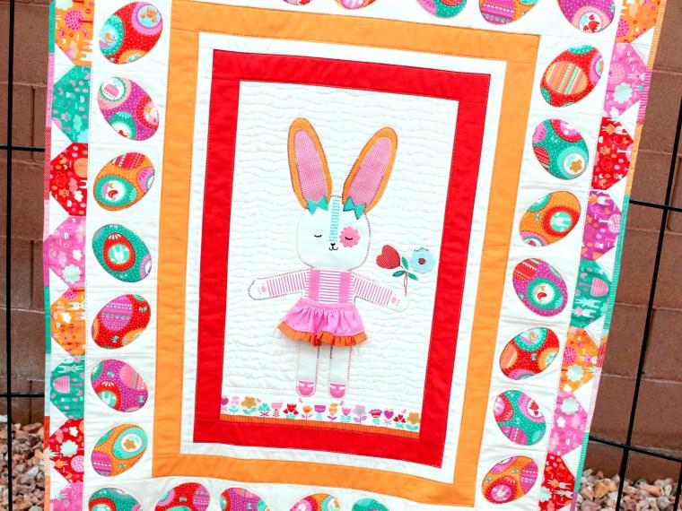 Carol Swift Hippity Hoppity Bunny Quilt