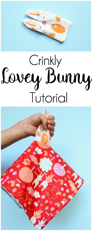 thermoweb crinkly bunny tutorial